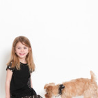 Little Hazel and Dog