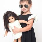 Nina and doll